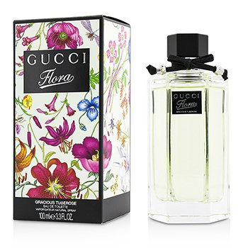 Gucci Flora by Gucci Gracious Tuberose Eau De Toilette Spray (New Packaging)