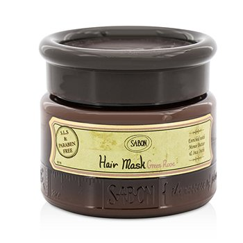 Sabon Hair Mask - Green Rose