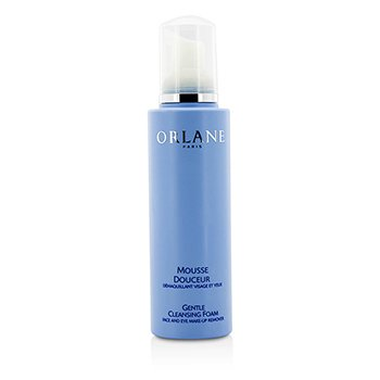 Orlane Gentle Cleansing Foam Face And Eye Makeup Remover (Unboxed)