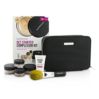 Bare Escentuals BareMinerals Get Started Complexion Kit For Flawless Skin - # Medium (Box Slightly Damaged)