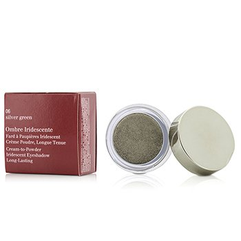 Clarins Ombre Iridescente Cream To Powder Iridescent Eyeshadow - #06 Sliver Green