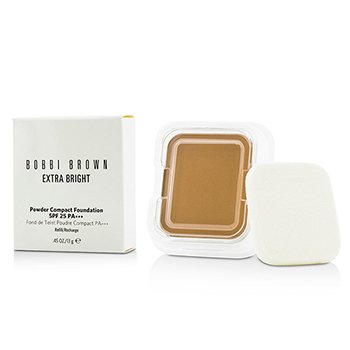 Bobbi Brown Extra Bright Powder Compact Foundation SPF 25 Refill - #4.5 Warm Natural