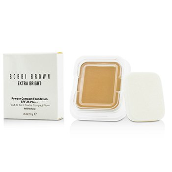 Bobbi Brown Extra Bright Powder Compact Foundation SPF 25 Refill - #3.5 Warm Beige
