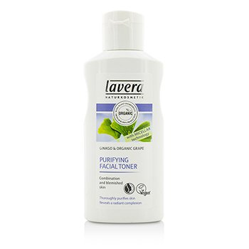 Lavera Organic Ginkgo & Grape Purifying Facial Toner - For Combination & Blemished Skin