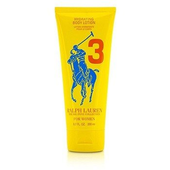 Ralph Lauren Big Pony Collection For Women #3 Yellow Hydrating Body Lotion (Unboxed)