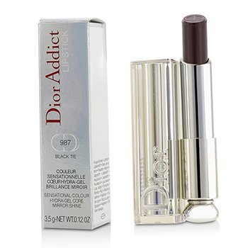 Christian Dior Dior Addict Hydra Gel Core Mirror Shine Lipstick - #987 Black Tie