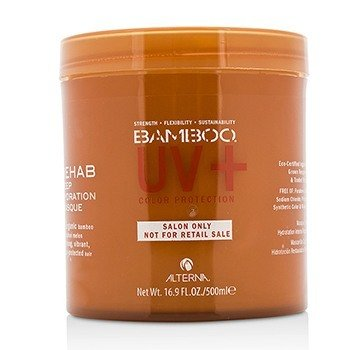 Alterna Bamboo Color Hold+ Color Protection Rehab Deep Hydration Masque (For Strong, Vibrant, Color Protected Hair)