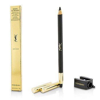 Yves Saint Laurent Dessin Du Regard Lasting High Impact Color Eye Pencil - # 1 Noir Volage