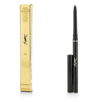 Yves Saint Laurent Dessin Du Regard Waterproof Stylo Long Wear Precise Eyeliner - # 1 Noir Ivresse