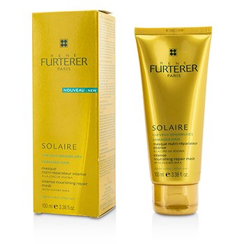Rene Furterer Solaire Intense Nourishing Repair Mask with Jojoba Wax (For Damaged Hair)