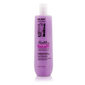 Rusk Sensories Healthy Strengthening Shampoo (Vitamin Infused with Blackberry & Bergamot)