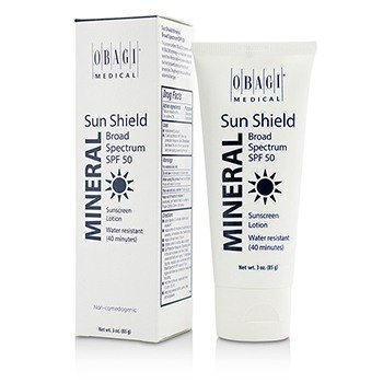 Sun Shield Mineral Broad Spectrum SPF 50 - 40 Minutes Water Resistant