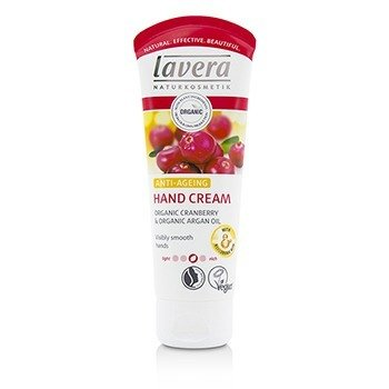 Lavera Organic Cranberry & Argan Oil Anti-Ageing Hand Cream