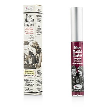 TheBalm Meet Matte Hughes Long Lasting Liquid Lipstick - Dedicated