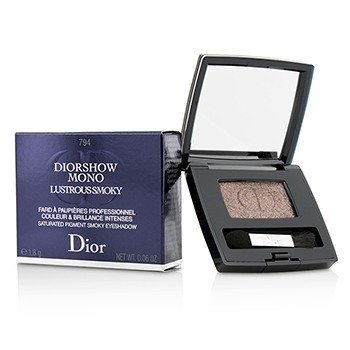 Christian Dior Diorshow Mono Lustrous Smoky Saturated Pigment Smoky Eyeshadow - # 794 Fever
