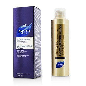 Phyto Phytokeratine Extreme Exceptional Shampoo (Ultra-Damaged, Brittle & Dry Hair)