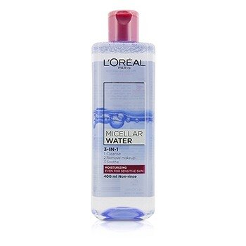 LOreal 3-In-1 Micellar Water (Moisturizing) - Even For Sensitive Skin
