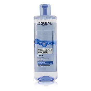 LOreal 3-In-1 Micellar Water (Refreshing) - Even For Sensitive Skin