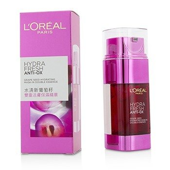 LOreal Hydrafresh Anti-Ox Grape Seed Hydrating Mask-In Double Essence
