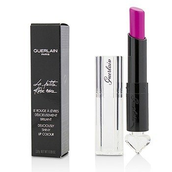 Guerlain La Petite Robe Noire Deliciously Shiny Lip Colour - #073 Orchid Beanie