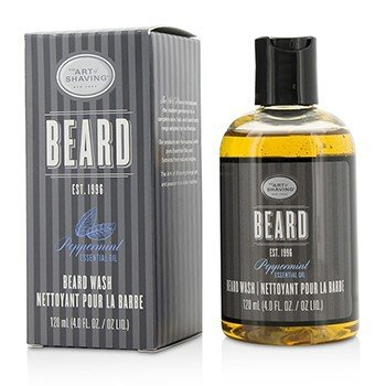 The Art Of Shaving Beard Wash - Peppermint Essential Oil
