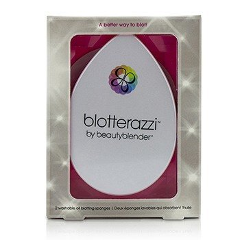 BeautyBlender Blotterazzi (2x Washable Oil Blotting Sponges) - Original (Pink)
