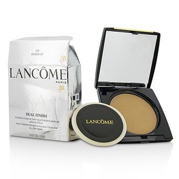 Lancome Dual Finish Multi Tasking Powder & Foundation In One - # 345 Sand III (N) (Box Slightly Damaged, US Version)