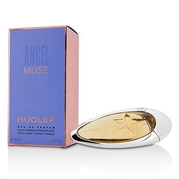 Thierry Mugler Angel Muse Eau De Parfum Spray (Refillable Cosmic Pebble)