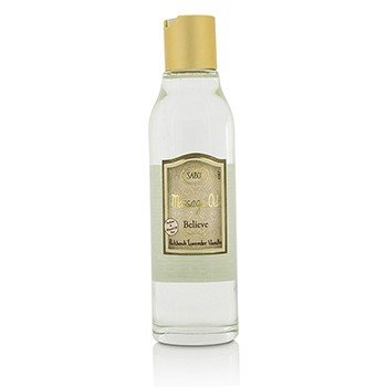 Sabon Massage Oil - Believe (Patchouli Lavender Vanilla)