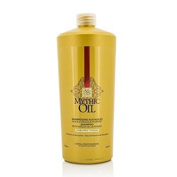 LOreal Professionnel Mythic Oil Shampoo with Argan Oil & Myrrh (Thick Hair)