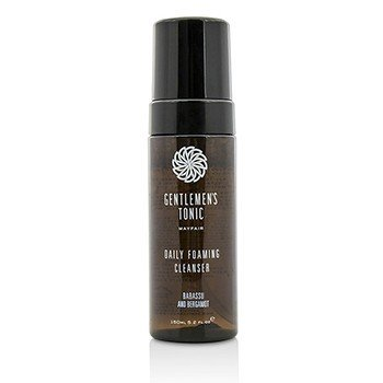 Gentlemens Tonic Babassu And Bergamot Daily Foaming Cleanser