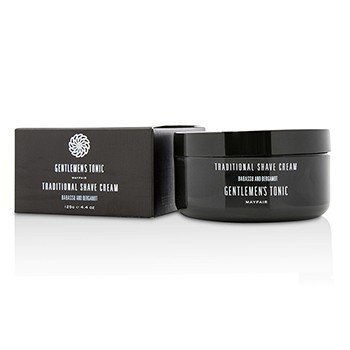 Gentlemens Tonic Babassu And Bergamot Traditional Shave Cream