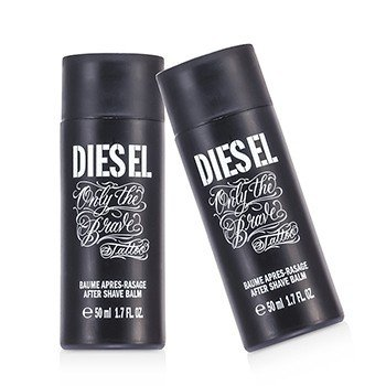 Diesel Only The Brave Tattoo After Shave Balm Duo Pack (Unboxed)