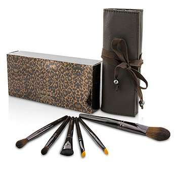 Laura Mercier Brush It On Luxe Brush Collection (6x Brush, 1x Case)