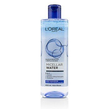 LOreal 3-In-1 Micellar Water (Deeping Cleansing) - Even For Sensitive Skin