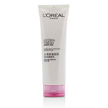 LOreal Hydrafresh Anti-Ox Grape Seed Hydrating Creamy Foam