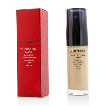 Shiseido Synchro Skin Glow Luminizing Fluid Foundation SPF 20 - # Rose 1