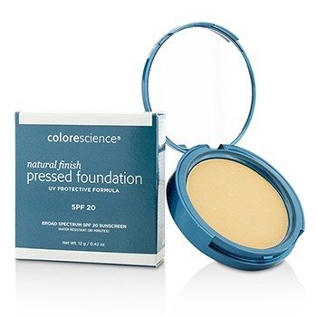 Colorescience Natural Finish Pressed Foundation Broad Spectrum SPF 20 - # Light Ivory