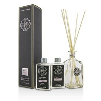 Reed Diffuser with Essential Oils - Jasmine, Rose & Cranberry