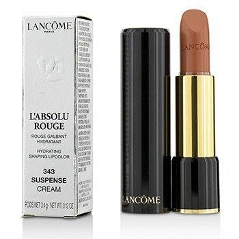 Lancome L Absolu Rouge Hydrating Shaping Lipcolor - # 343 Suspense (Cream)
