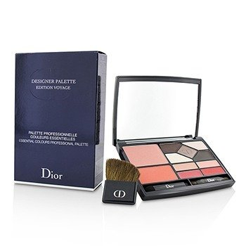 Christian Dior Designer Palette Edition Voyage (2x Blush, 5x Eyeshadow, 4x Lip Color, 3x Applicator)