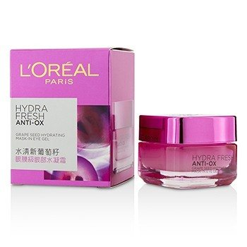 LOreal Hydrafresh Anti-Ox Grape Seed Hydrating Mask-In-Eye Gel