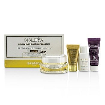 Sisley Sisleya Eyes Discovery Program: Sisleya Eye & Lip Cream 15ml + Black Rose Cream Mask 10ml + Sisleya Lotion 15ml + Supremya 5ml