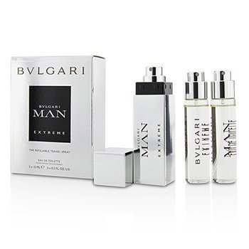 Bvlgari Man Extreme The Refillable Eau De Toilette Travel Spray