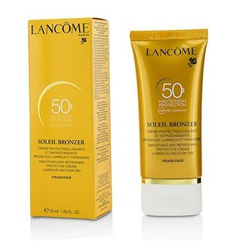 Lancome Soleil Bronzer Smoothing & Refreshing Protective Cream SPF50
