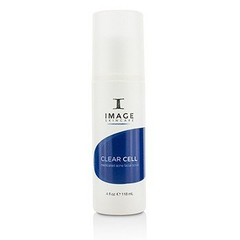 Image Clear Cell Medicated Acne Facial Scrub