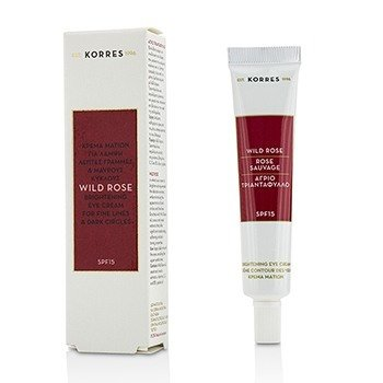Korres Wild Rose Brightening Eye Cream SPF15