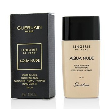 Guerlain Lingerie De Peau Aqua Nude Foundation SPF 20 - # 02C Light Cool
