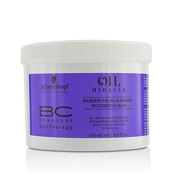 Schwarzkopf BC Oil Miracle Barbary Fig Oil & Keratin Restorative Mask (For Very Dry and Brittle Hair)