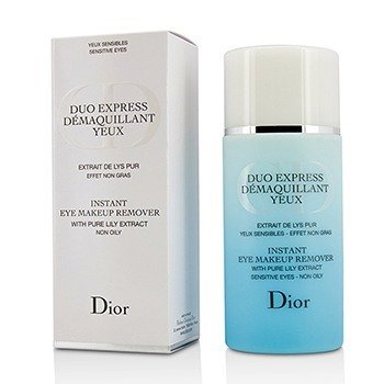 Christian Dior Instant Eye Makeup Remover (Duo Express) (Without Cellophane)
